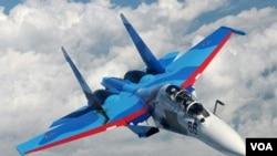 Indonesia akan membeli enam pesawat tempur Sukhoi dari pemerintah Rusia (foto: dok).
