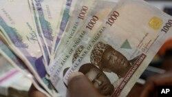 Takardar kudin Najeriya da ake kira Nera da babban bankin kasar ke rabwa bankuna