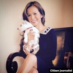 Lulu Damiat, president dan creative director Ela Lu di Los Angeles (foto/dok: Lulu Damiat)