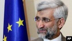 이란의 핵 협상 대표인 사이드 잘릴리 최고국가안보위원회 위원장.