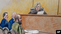 Army psychiatrist Major Nidal Hasan is accused of opening fire at Fort Hood, Texas in November 2009, leaving 13 people dead