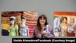 Umida Ahmedova o'z ijodi oldida