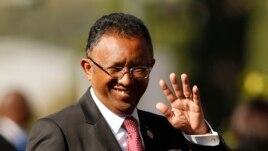 FILE - Madagascar's President Hery Rajaonarimampianina