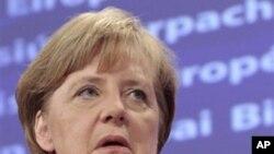 회담에 참석한 메르켈 독일 총리