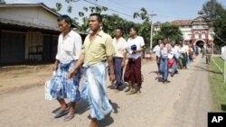 10月12号缅甸永盛监狱释放一批异议人士