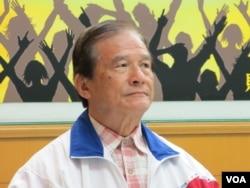台湾前国防部长蔡明宪 (美国之音张永泰拍摄)