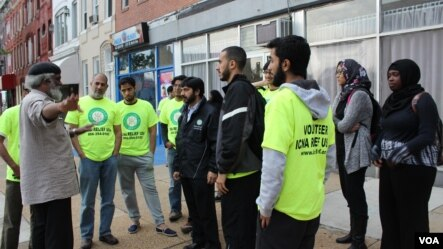 Baltimore: ICNA volunteers