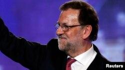 """西班牙首相保守政党""""人民党""""首领拉霍伊"""