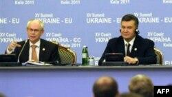 Херман ван Ромпей и Виктор Янукович