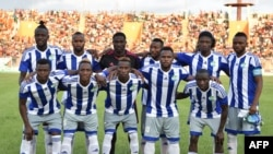 Les joueurs de la Sierra Leone posent lors d'un match Côte d'Ivoire, Bouaké, le 3 septembre 2016.