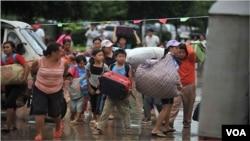 برمی پناہ گزین