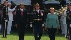 اوباما و مرکل انتظار دارند قذافی قدرت را واگذار کند