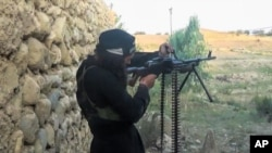 Militante do Estado Islâmico (foto de arquivo)