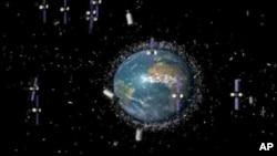 Procenjuje se da oko naše planete krugi šest i po hiljada tona svemirskih otpadaka