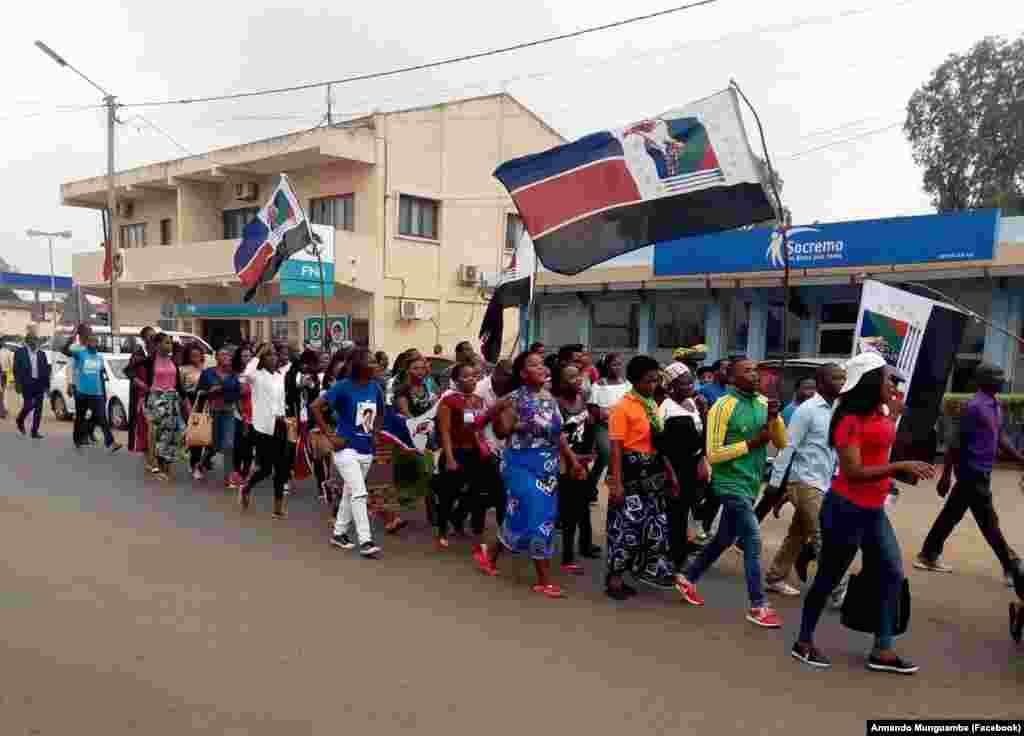 Campanha da RENAMO em Xai-Xai. Moçambique, Outubro de 2018