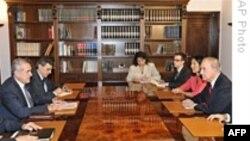 فرستاده ویژه آمریکا با رییس جمهوری لبنان گفت و گو کرد