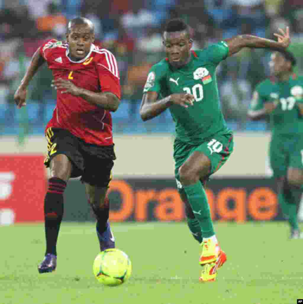 2012 Nations Cup: Burkina Faso 1, Angola 2