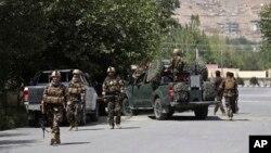 Afg'oniston xavfsizlik kuchlari hujum yuz bergan hududga yetib keldi, 2018-yil, 16-avgust.