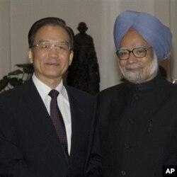 چین اور بھارت کے وزرائے اعظم