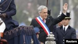 Esta semana, el presidente Piñera participó en las celebraciones oficiales de las fiestas patrias chilenas.