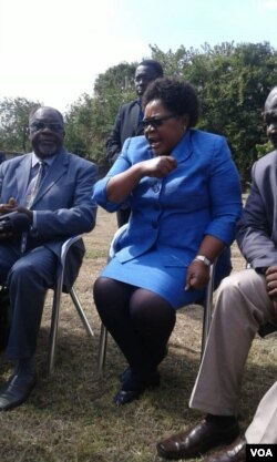 FILE: Mrs Joice Mujuru and other opposition party leaders.