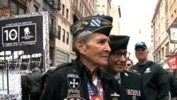 Nueva York rinde tributo a veteranos de guerra