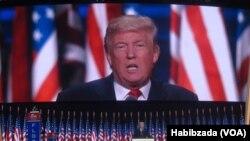 VaDonald Trump vasarudzwa nenhengo dzebato ravo muna kuti vapinde musarudzo yemutungamiri wenyika.