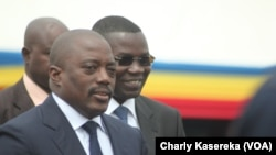 Joseph Kabila, président de la RDC (Charly Kasereka / VOA)