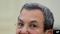 以色列国防部长巴拉克(2012年1月11号资料照)