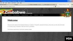 A big picture of Zwambila used to grace this website before it was pulled down Monday afternoon.