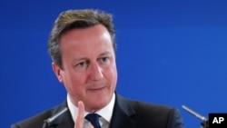 دیوید کامرون نخست وزیر بریتانیا