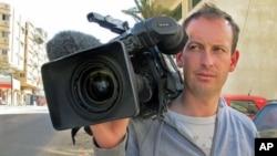 法國電視記者吉爾‧雅基耶1月11日在敘利亞報導反政府運動遇害(資料圖片)