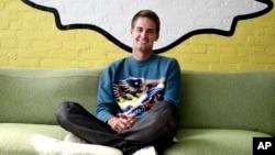 Snapchat CEO Evan Spiegel in Los Angeles, Oct. 24, 2013.