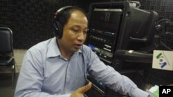 Koul Panha, Executive Director of The Committee for Free and Fair Elections in Cambodia (COMFREL).