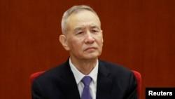 中共中央政治局委員、副總理劉鶴。