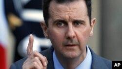 ဆီးရီးယားသမၼတ Bashar al-Assad