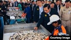 မဟာခ်ိဳင္ေဒသကို ထုိင္း၀န္ႀကီးခ်ဳပ္ Prayut Chan-o-cha ကိုယ္တိုင္ ကြင္းဆင္းေလ့လာ( Gen.Prayut Chan-o-cha ทีมงาน FB)