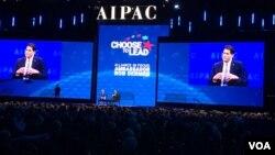 ران درمر سفیر اسرائیل در آمریکا در اجلاس ایپک ۲۰۱۸ سخن گفت
