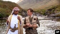 Amr Waked and Ewan McGregor star in CBS Films' SALMON FISHING IN THE YEMEN.