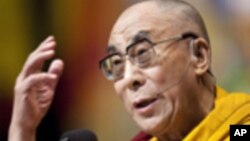 西藏精神領袖達賴喇嘛