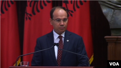 Bujar Nishani president of the Republic of Albania