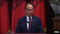Bujar Nishani president of the Republic of Albania
