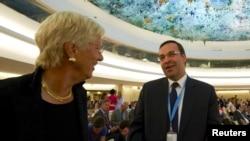 스위스 제네바에서 열리고 있는 제 27차 유엔 인권이사회에서 16일 시리아 인권 문제 등을 논의했다.