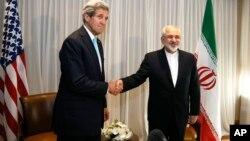 Джон Керри и Джавад Зариф (фото из архива)
