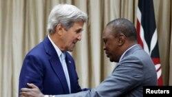 Jon Kerri Nayrobida Keniya Prezidenti Uxuru Kenyatta bilan uchrashdi
