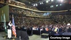 وزیراعظم عمران خان کا واشنگٹن میں پاکستانی کمیونٹی سے خطاب