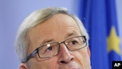 Chủ tịch Eurogroup Jean-Claude Juncker