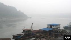 四川宜宾市附近的长江起点