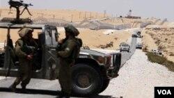 مصر اور اسرائیل کی سرحد