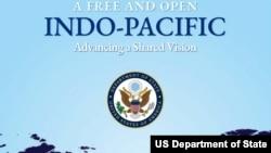 """美国国务院2019年11月4日发布""""自由开放印太战略共享愿景""""报告(图片来源:美国国务院网站)"""